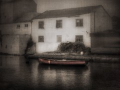 That Abandoned Look (wolfmanmoike) Tags: sea boat quay warehouse wicklow photoart arklow