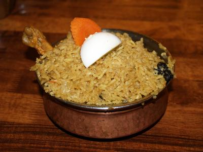 Chicken briyani rice