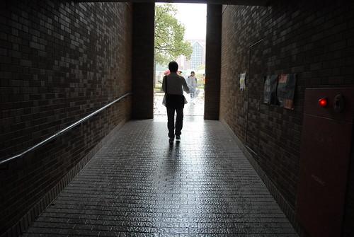 雨の京田辺(知真館)