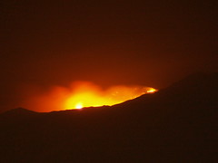 fire in san jacinto mountains