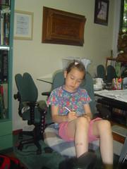 A Pensive Moment (wnlong) Tags: sleeping trashdump studytable