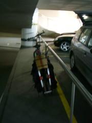 Num parque de estacionamento subterrâneo do Chiado