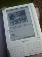 The Advance Guard on my Kindle