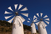 Windmills on the Lasithi Plateau (Yann Le Biannic) Tags: windmills crete lasithi polariser moulins polarisant anawesomeshot