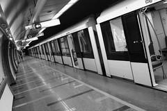 DSCF2538_ (faki_) Tags: fuji fujifilm xe1 carlzeissjenazebraflektogon20mmf4 20 4 sooc ooc bwredfilter feketefehér ff blackandwhite bw monochrome monokróm metró metro subway underground