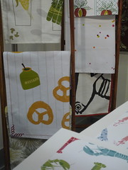 More Towels (openfacesandwichDESIGN) Tags: booth display patterns teatowels patterndesign surtex