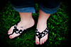 What's with the Dots? New sandals. I