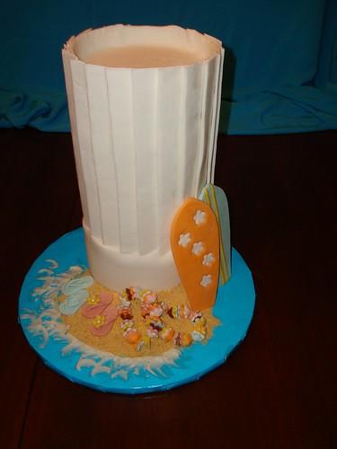 Chef's Hat cake