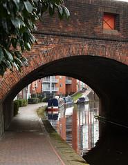 Under the bridge (Helena Pugsley) Tags: bridge water boat canal birmingham barge flickrchallengegroup flickrchallengewinner 15challengeswinner