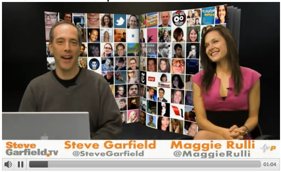 SteveGarfield.tv with Maggie Rulli