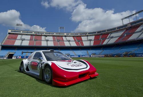 Silver Car-Vicente Calderón