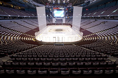 A Tour in Rogers Arena (Claire Chao) Tags: vancouver tour bc empty wideangle symmetry symmetric playoffs canucks stanleycup playoff vancouvercanucks guidedtour gocanucksgo 1635mmf28 canonllens stanleycupfinal rogersarena canon1635mmf28 gocanucks autowb canoneos5dmarkii lacoupestanley formallygeneralmotorsplace arenatours 68130pm 4250k0