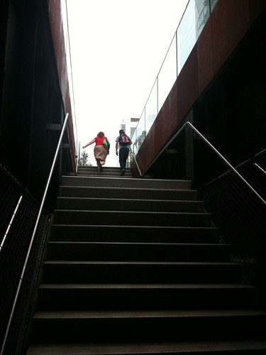 Entering the High Line's new section, @ 23rd St.