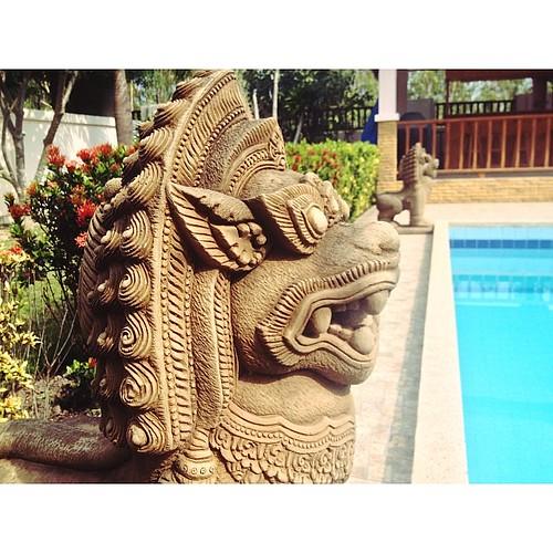 #Hua hin #thai #house #pool #водуохраняют