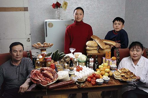 Mongolia - $40 a week for food
