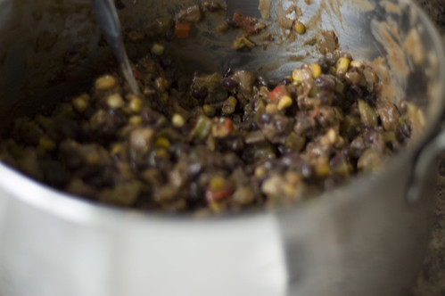 bean burrito filling