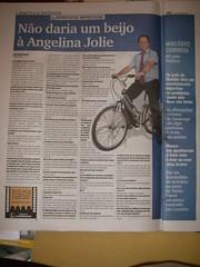 Um político em bicicleta