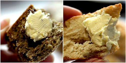 Schmeared scones...with lavender butter