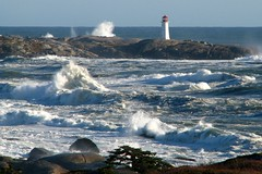 After the storm (Nancy Rose) Tags: ocean lighthouse waves novascotia noel peggyscove tropicalstorm supershot 25faves mywinners anawesomeshot superbmasterpeice diamondclassphotographer