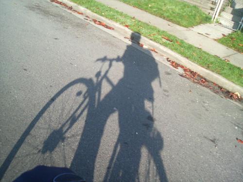 Morning Bike Shadow - Image798