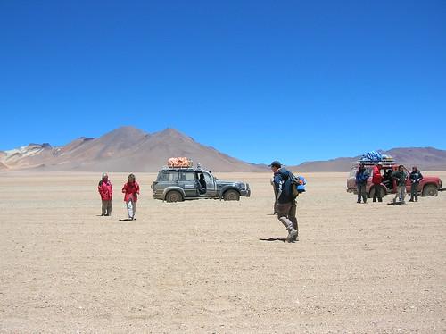 En mitad del desierto