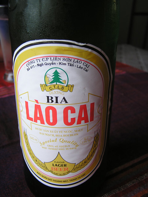 lao cai lager beer