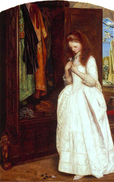 Arthur Hughes, Beauty and the Beast, 1863-65