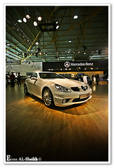 Mercedes Benz-SLK (Essa Al-Sheikh - @Bo3awas) Tags: mercedes benz automobile expo exhibition international kuwait kuwaitcity q8 slk  alsheikh eissa   kuw