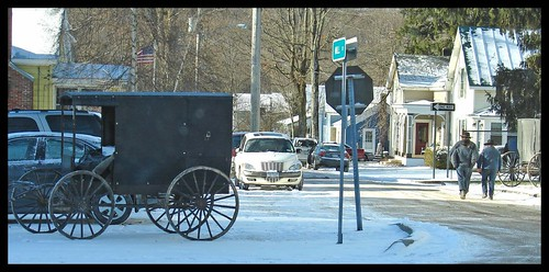 An Amish Parking Job