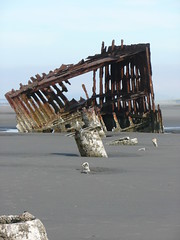 Peter Iredale Shipwreck (marydenise6) Tags: ocean beach water oregon geotagged coast boat ship peter shipwreck oregoncoast wreck peteriredale iredale
