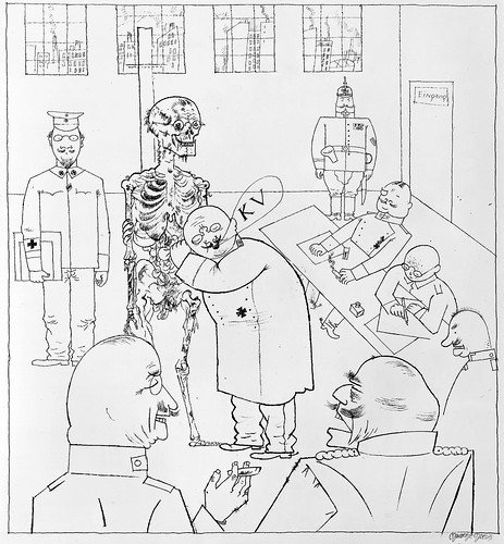 """Fit for Active Service"" by George Grosz, 1917"