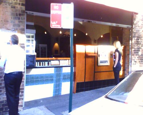 Wall café, surry hills.