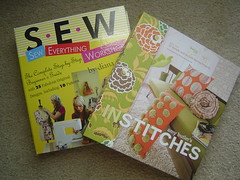 Diana Rupp's S.E.W. and Amy Butler's In Stitches