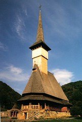 Wooden church of Brsana (jrozwado) Tags: church europe monastery romania orthodox unescoworldheritage traditionalculture ethnography folkculture romnia maramure brsana