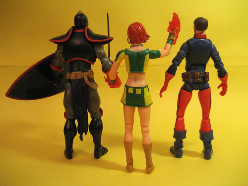 Black Knight, Marvel Girl, Bucky