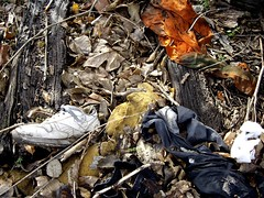 shoe and clothing trash (www.elliebrown.com) Tags: poverty urban philadelphia trash documentary x pa drugs rubbish kensington detritus waste dumping xpa