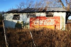 knippa coca-cola ghost sign
