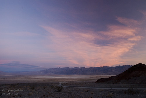 Dawn at Death Valley
