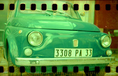 FIAT 500 (givikat) Tags: world nov trip travel light test france art film me oneaday car fun book design photo blog lomo lca bravo media experimental power expo fiat kodak lumire album toycamera style voiture scan dec fave collection bleu international exposition pro session chance 500 mode nantes allrightsreserved argentique pictureaday gildas lumineux presse cration durable pellicule contemporain paysdelaloire loireatlantique journalisme supershot esthtique 110f maquaire artlibre eventoblog scopic gmprod scopict