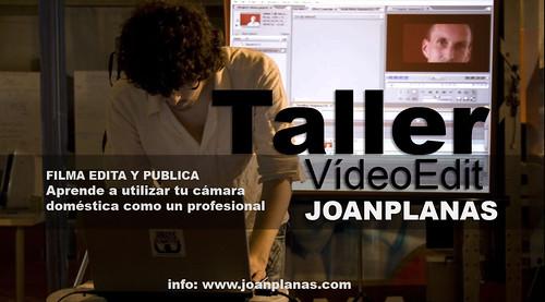 taller videoedit Joan Planas