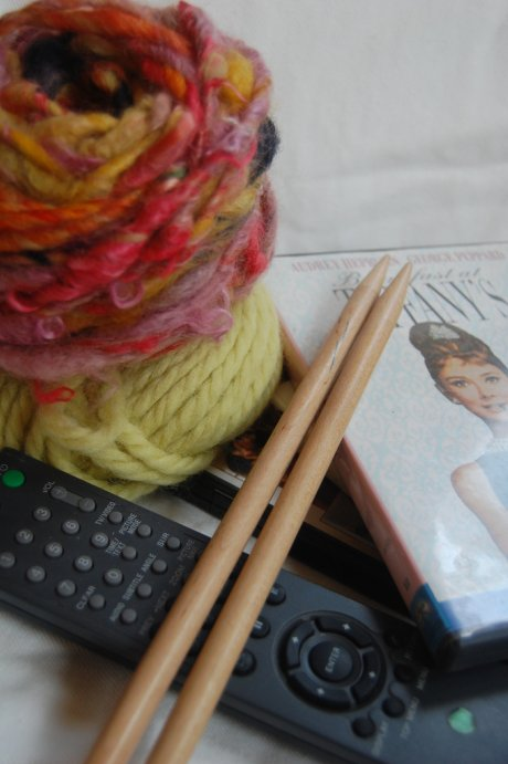 Knitting and Movies