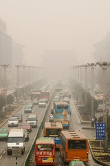 Heavy Traffic, Heavy Haze - another day in China