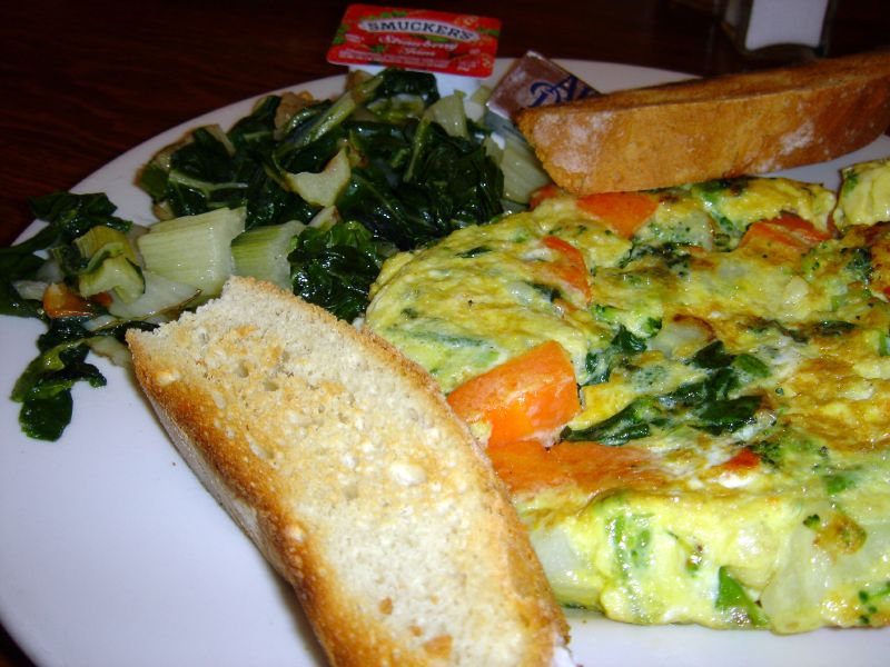 Vegetable Fritatta w/Swiss Chard