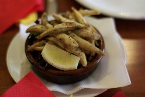 La Marina restaurant, Shellharbour: Whitebait tapas