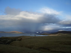 View over to Taransay