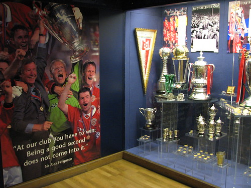 The Manchester United Trophy Room