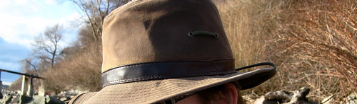 Oil Cloth Packer Hat
