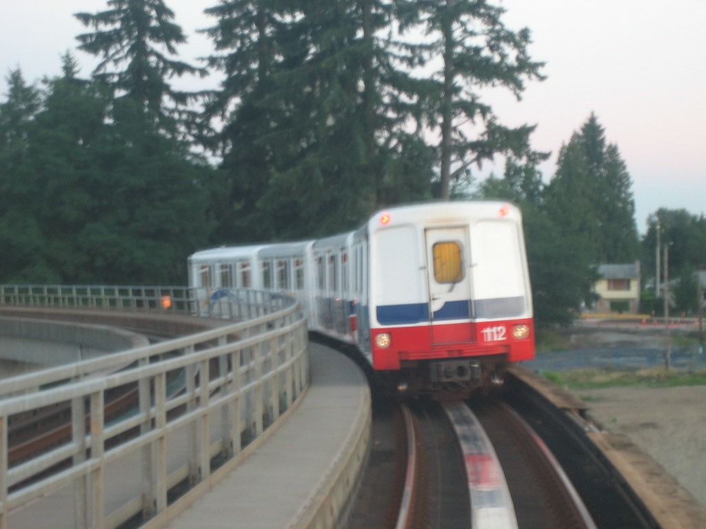 Quite close to the next SkyTrain...