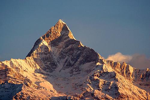 Machhapuchhre - 6993m (Anapurna, Nepal) por jmhullot.