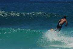 Surfer (~BJG~) Tags: ocean blue water hawaii waves surfing surfers banzaipipeline banzaibeach